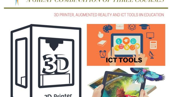 3 in 1: ICT tools, Augmented Reality and 3D printing