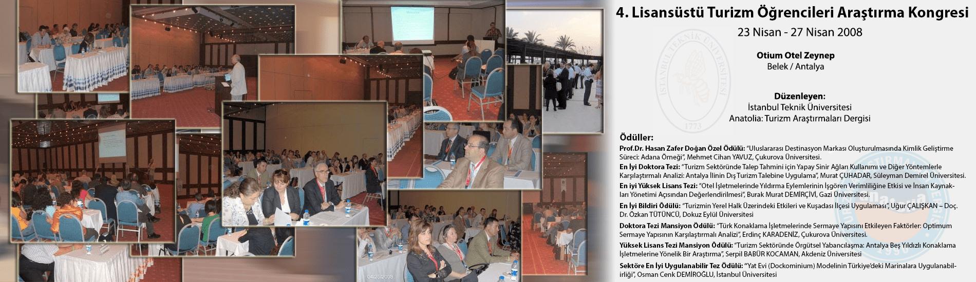 4. Lisansüstü Turizm Öğrencileri Araştırma Kongresi