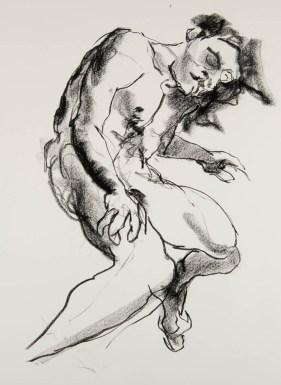 waisted male nude
