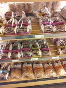 Bread Shelf at the Grocery Store