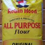 Bag of Robin Hood brand flour