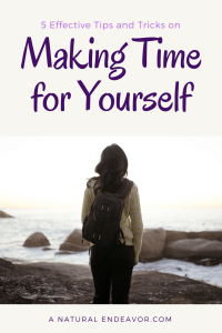 Making time for yourself