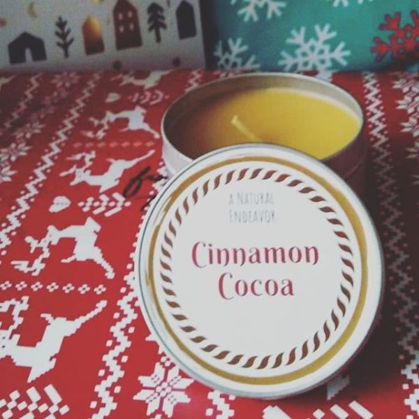 Cinnamon Cocoa Candles, Beeswax