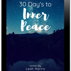 30 days to inner peace, cover, a Natural Endeavor
