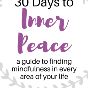 mindful living ebook