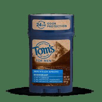 Tom's deodorant for Men