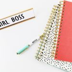 Girl boss, successful entrepreneur