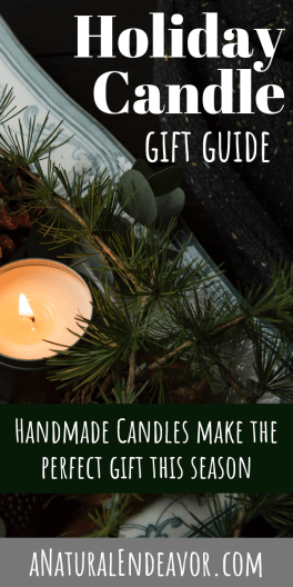 Holiday Candle, Christmas Candles Handmade gifts