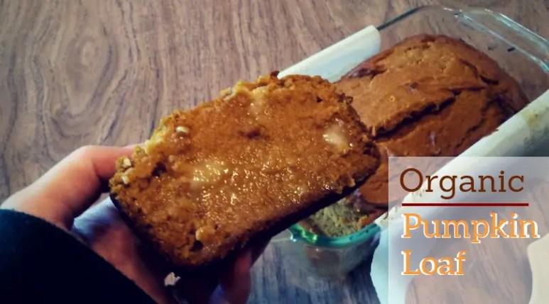 Organic, Low sugar pumpkin loaf, starbucks copycat pumpkin bread