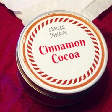 Cinnamon Cocoa Candle, Beeswax Candle