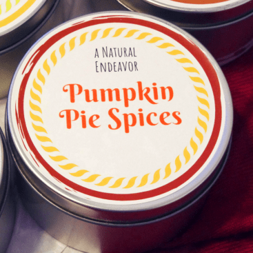 Pumpkin Spice Candle, Pumpkin Pie Spice, Beeswax holiday candles