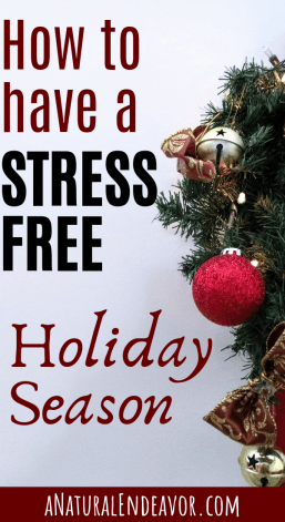 Stress free holiday season, how to have a stress free Christmas