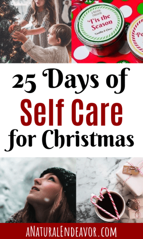 Christmas Self Care, winter self care, enjoy the holiday season, self care for Christmas