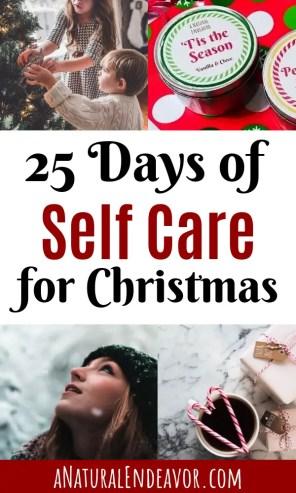 Christmas Self Care, winter self care, enjoy the holiday season, self care for Christmas