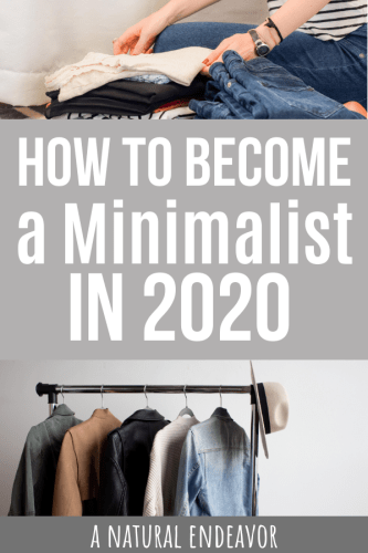 resolutions for minimalism in 2020