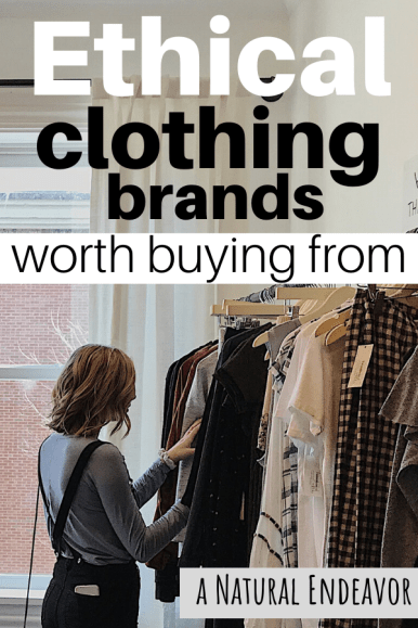 Ethical clothing brands worth buying from