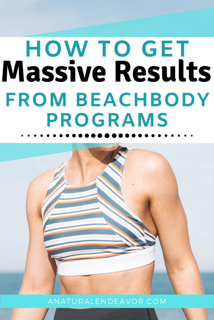 Massive results from Beachbody programs