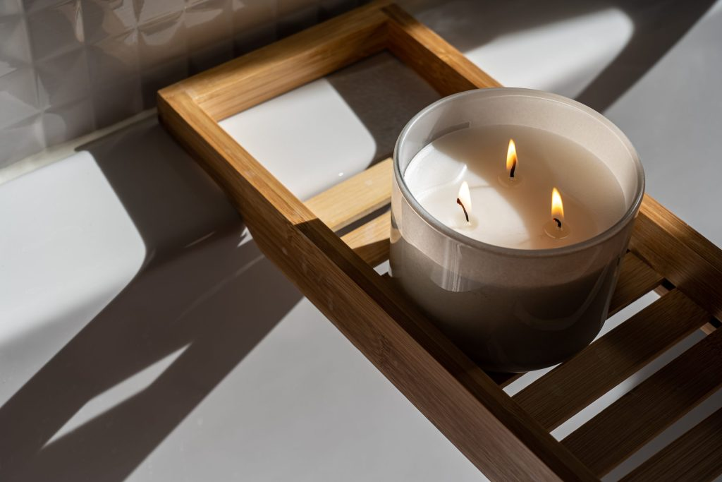 Candles, Hygge for Spring