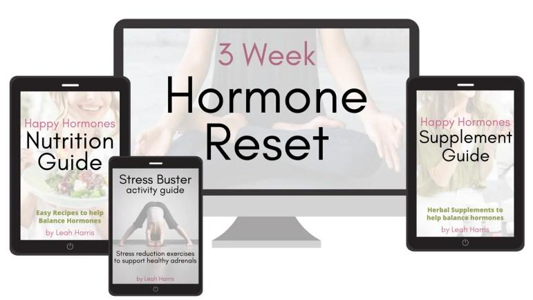 3 Week Hormone Reset kit, improve hormone balance naturally