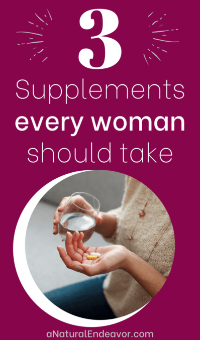 3 supplements every woman needs for better health and wellness