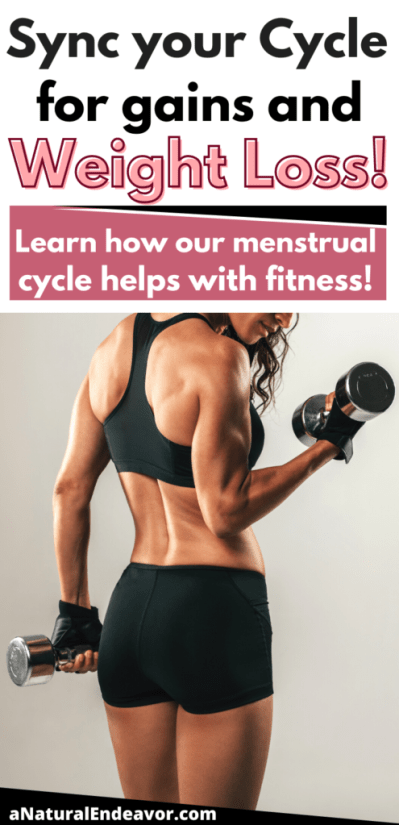 how to sync your menstrual cycle and fitness goals