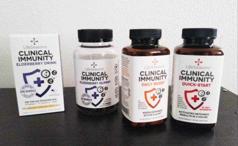 Clinical Immunity Boosting Supplements by LifeSeasons