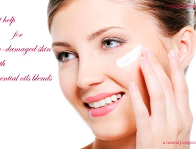Skin Care Recipes for Dry and Sun Damaged Skin