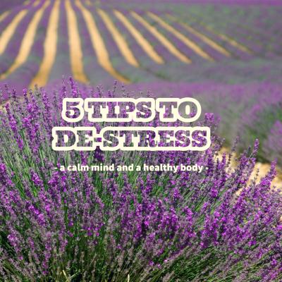 Five Tips to De-stress