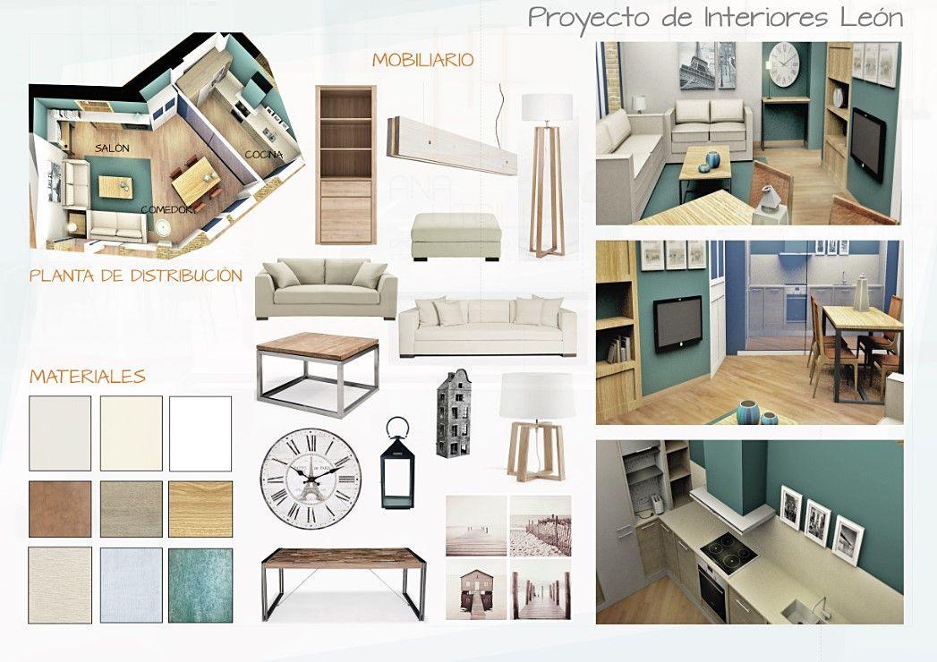 Diseño de interiores residencial león por Ana Utrilla