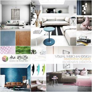 Diseño de interiores de escaparate y showroom por Ana Utrilla
