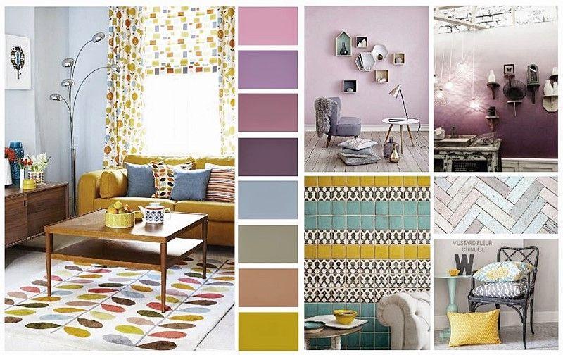 Guía de colores pantone 2015 en decoración de interiores por Ana Utrilla Diseño de interiores