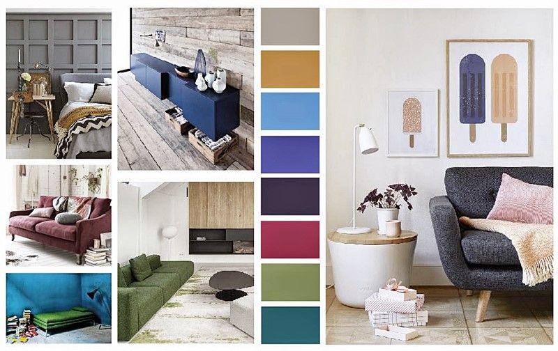 Paleta de colores PANTONE 2015 en decoración de interiores