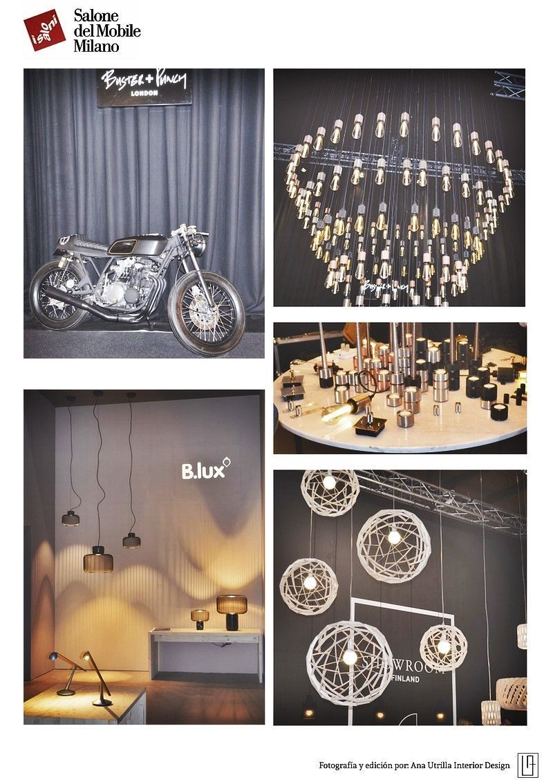 Salón del mueble Milán 2015 por Ana Utrilla diseño de interiores online