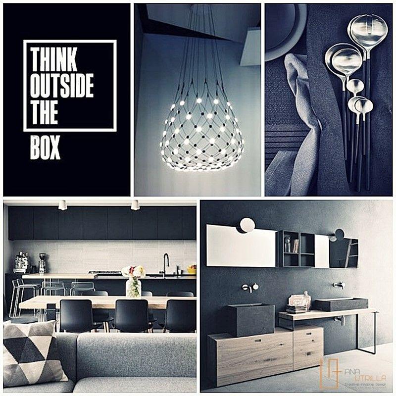 Espacios de estilo masculino y colores oscuros crean conjunto sofisticado y elegante por Ana Utrilla