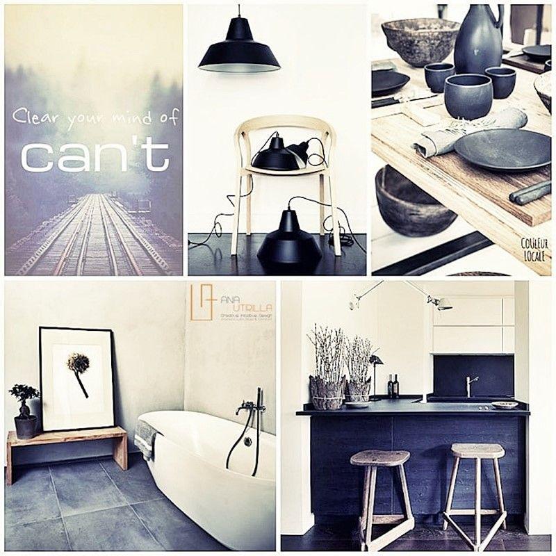 Decora tu vivienda con estilo masculino y rústico por Ana Utrilla DIseño de Interiores