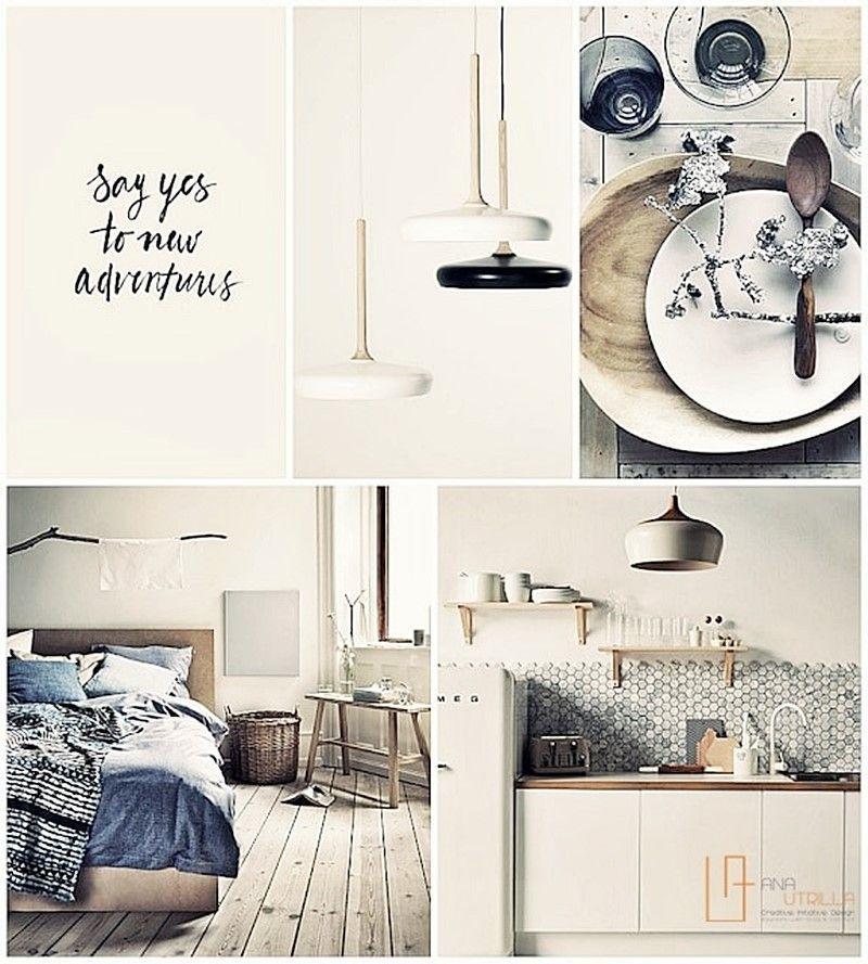 Moodboard para proyectos de interiorismo por Ana Utrilla