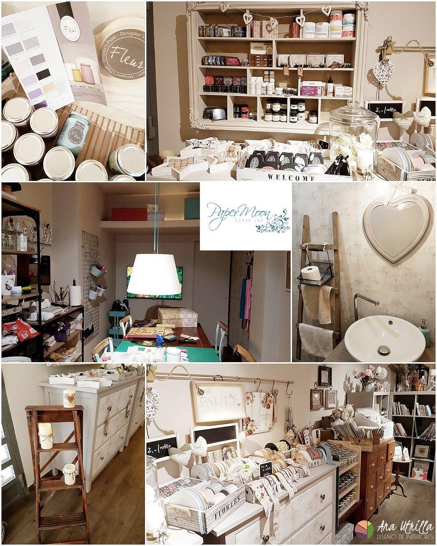 Local scrapbooking papermoon diseño de interiores por Ana Utrilla