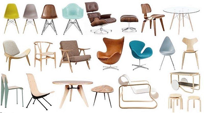 Mobiliario de estilo escandinavo más utilizado en decoración de interiores