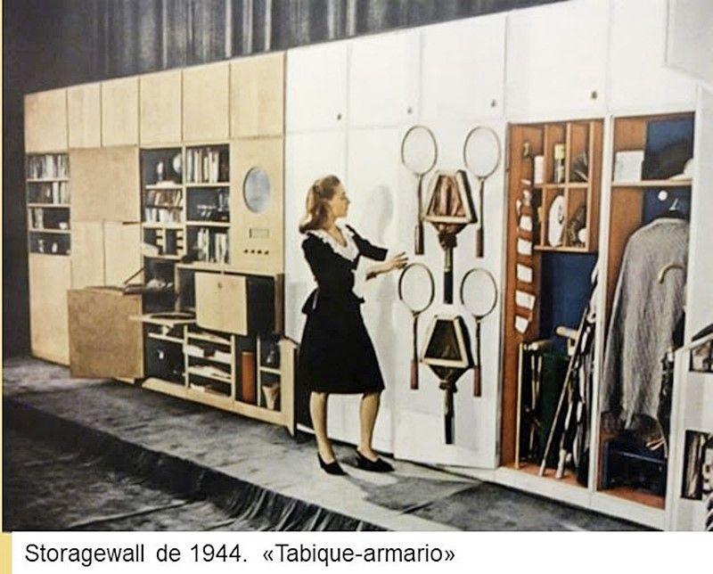 """Storagewall 1944 """"tabique armario"""" estilo escandinavo"""
