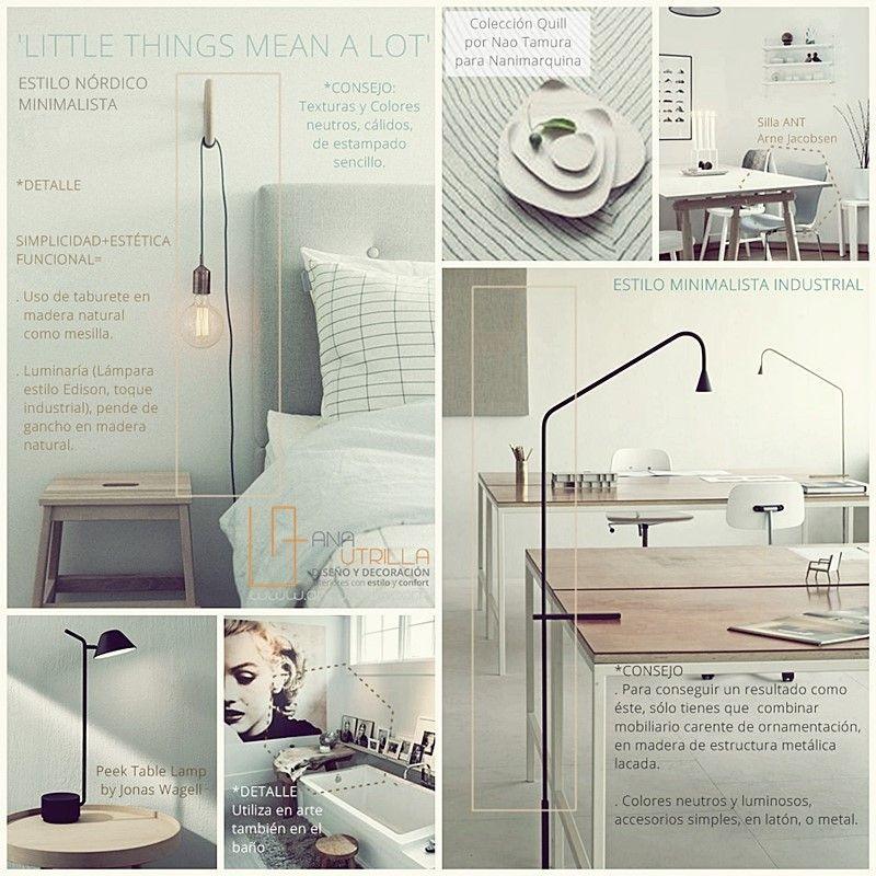 Decoración de interiores con estilos nórdico o industrial para tu hogar o espacios de trabajo