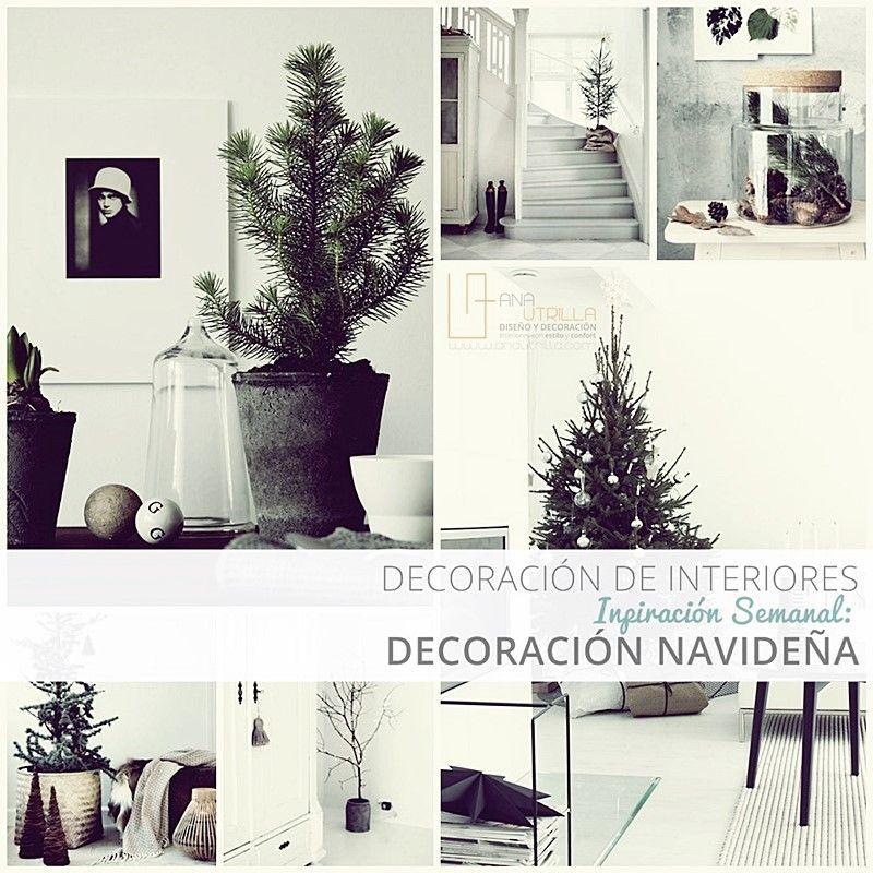 Ideas para una decoración DIY para navidad por Ana Utrilla Diseño de Interiores