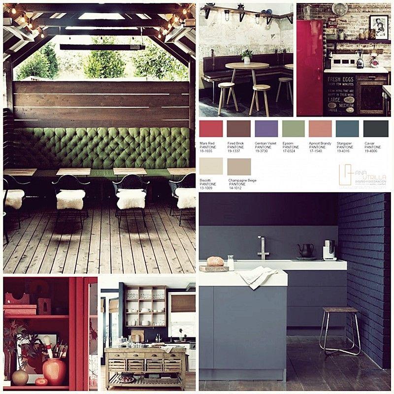 Colores pantone 2016 en decoración de interiores, colores con personalidad y muy fuertes