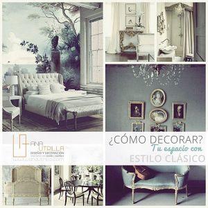 Como decorar con estilo clásico