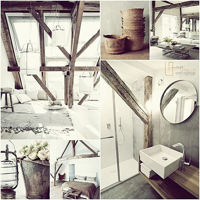 Espacios decorados con estilo rústico ideas e inspiración para tu hogar por Ana Utrilla interiorismo online