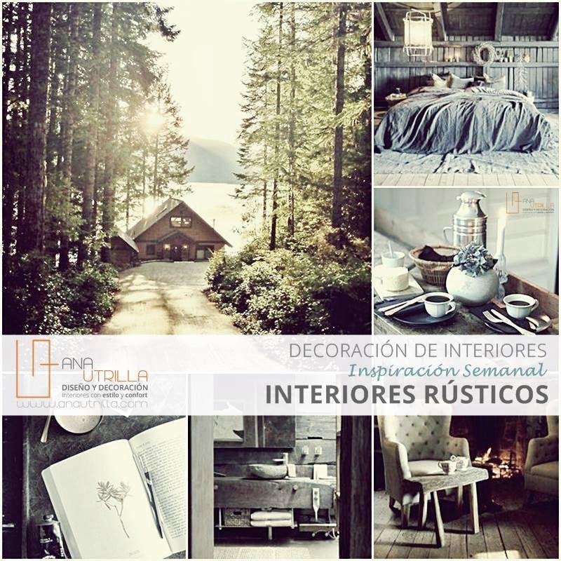 Ideas para decorar con estilo r stico dise o de - Decoracion interiores online ...