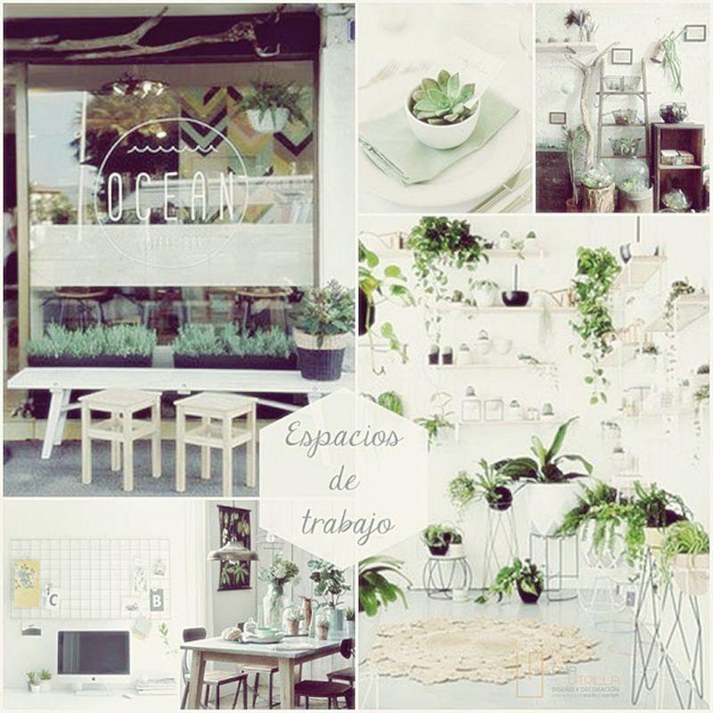 Decoración veraniega para espacios de trabajo por Ana Utrilla