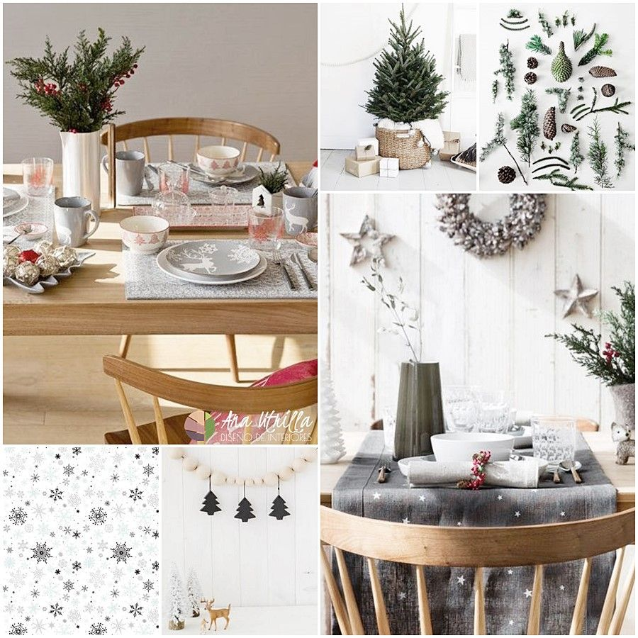 Winter Christmas tendencia 2017 propuesta de Zara Home para la decoración de estas navidades