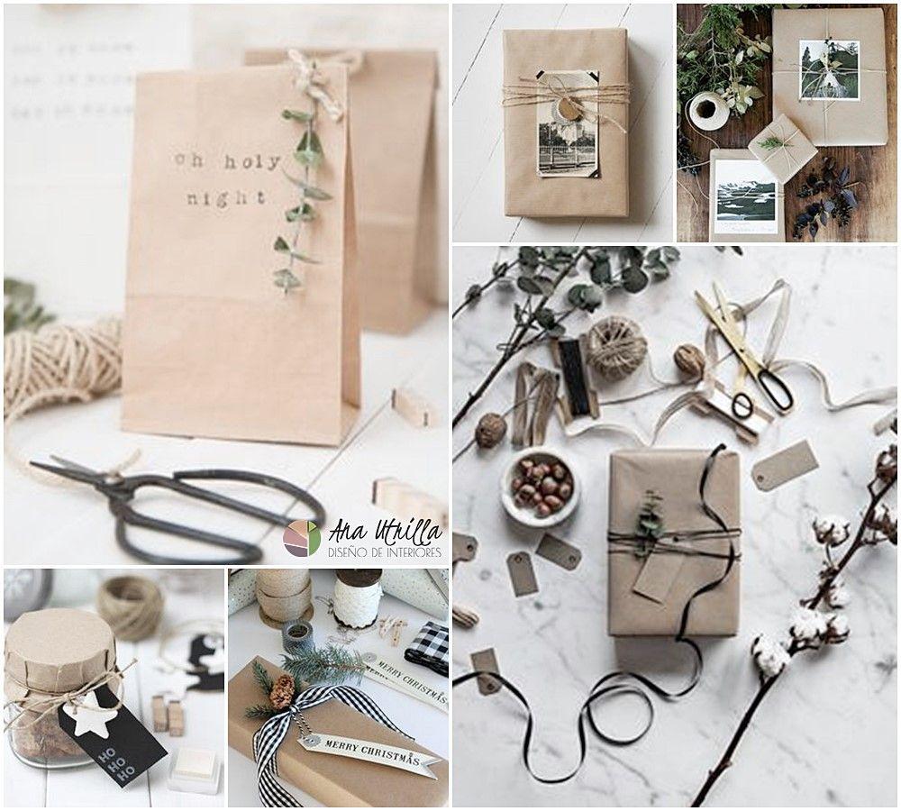 Envoltorios y papel de regalo diy ideas e inspiración por Ana Utrilla