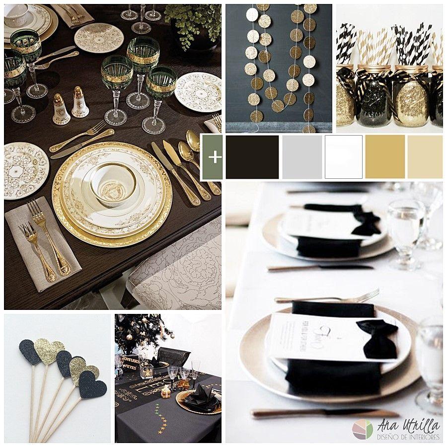 Decoración e ideas para Nochevieja cómo decorar