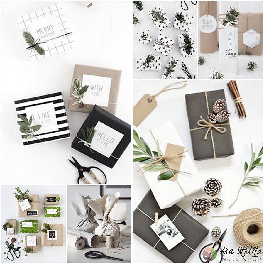 Originales ideas e inspiración para envolver regalos por Ana Utrilla